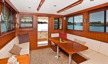 Clipper Heritage Yacht Interior