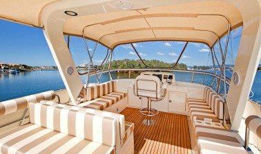 Clipper Heritage Yacht Flybridge